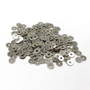 paiete metalice argintii 3.5mm