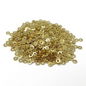 paiete metalice aurii 2mm
