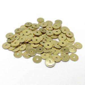 paiete metalice aurii 6mm