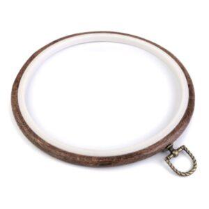 gherghef rotund rama pentru broderie cauciuc 20cm