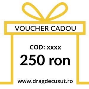 voucher cadou 250ron